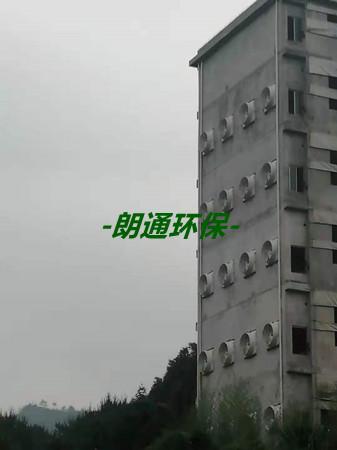 长汀楼层猪舍通风降温工程