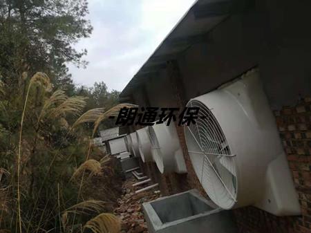 连城县全封闭猪舍的通风降温项目(正邦集团)